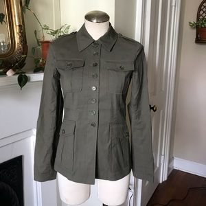 Theory Military Style Top